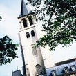 Saint Germain of Prés Church:昼のサンジェルマン・デ・プレ