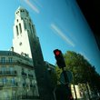paris by bus:92番線は観光バス
