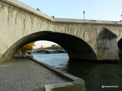 2007/10/23;Pont du Carrousel et Royal:カルーゼル橋とロワイヤル橋