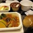 ANA:行きの機内食