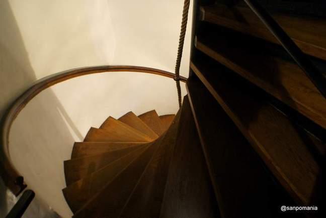 2011/11/13;アルザス博物館の螺旋階段