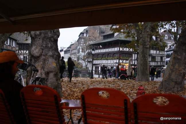 2011/11/13;グランディル近くのカフェ