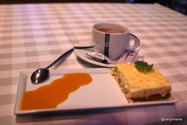2011/11/13;チーズケーキとカフェオレ