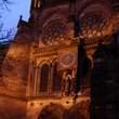 Cathedrale Notre-Dame:夜のカテドラル