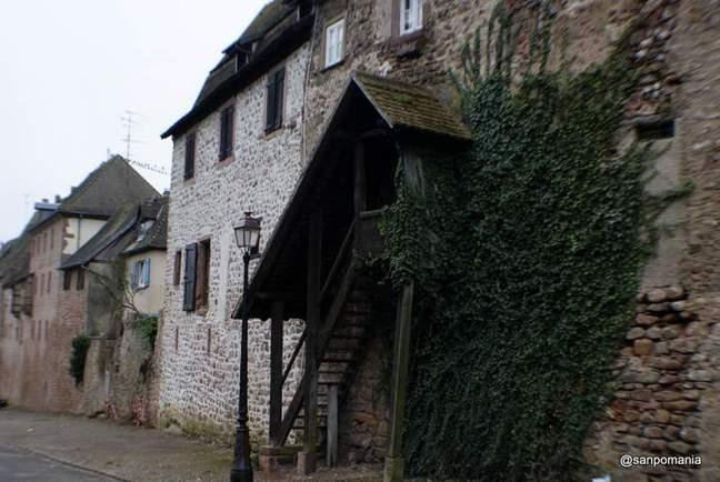 2011/11/15;壁沿いの家の入口