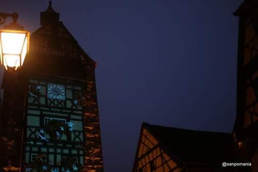 2011/11/14;ドルターの塔は電飾なし