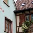 Eguisheim:花に囲まれたエギスアイム