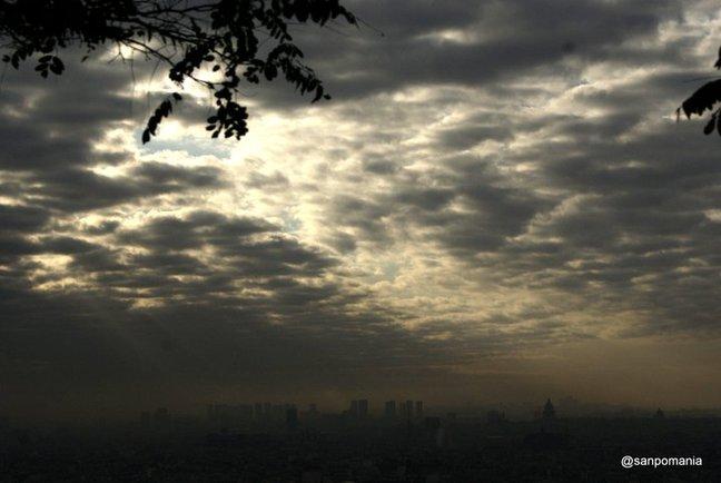 2011/11/18;天使の梯子が下りてきた