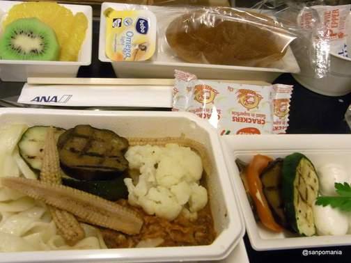 2011/11/20;ベジタリアン食の夕食