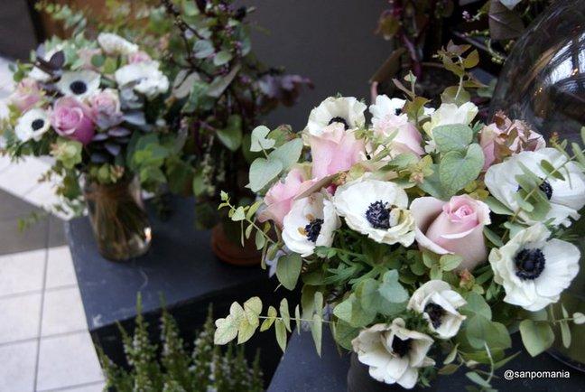 2011/11/18;淡いスモーキーカラーの花束;グランセール