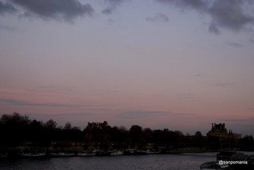 2011/11/18;東の空はうっすらもやったこんな色