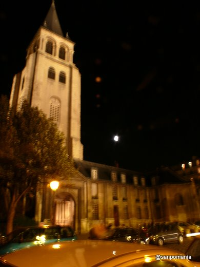 2007/10/21;夜のサンジェルマン・デ・プレ