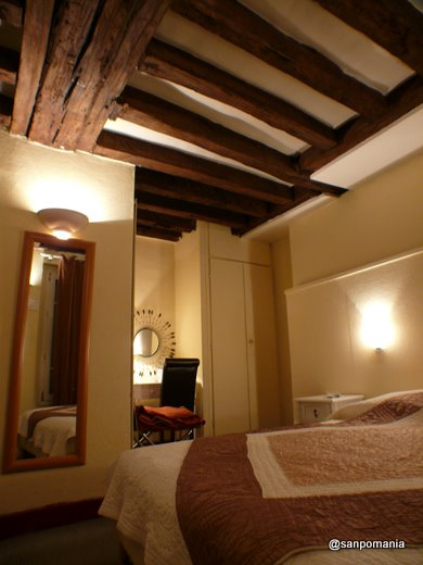 2007/10/21;Hotel Rive Gauche:前半の部屋
