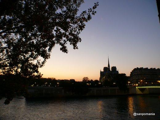 2007/10/23;ノートルダムの夕日