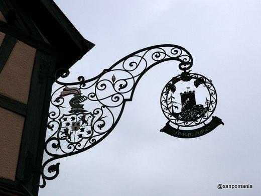 2007/10/26;塔をデザインした看板
