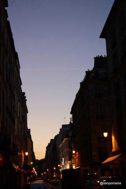 2011/11/19;うっすら朝焼け。急がなきゃ