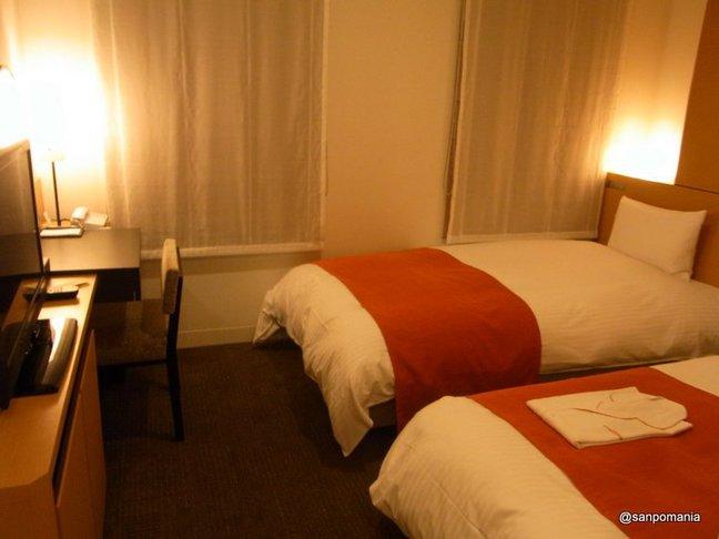 2012/06/19;ホテル近鉄京都駅の客室