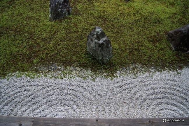 2012/06/19;光明院 波心庭の砂の紋