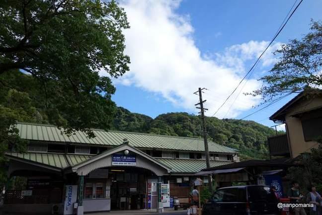 2012/09/16;八瀬比叡山口駅の駅舎