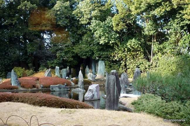 2013/01/19;団ぷ鈴からみた蓬莱の庭