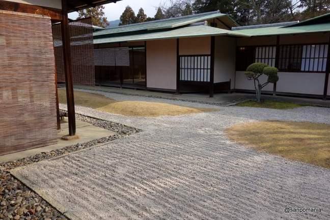 2013/01/19;佳水園中央の庭