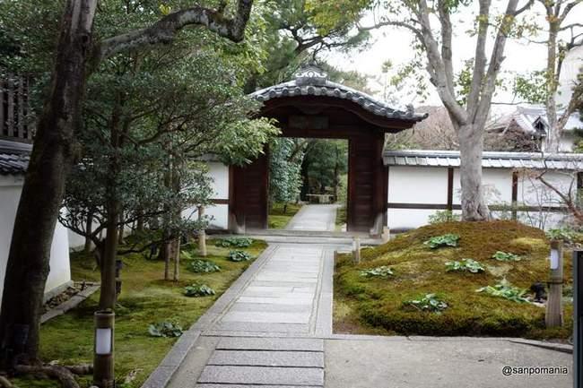 2013/01/20;圓徳院の入り口