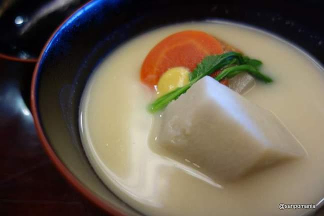2013/01/18;海老芋の白味噌仕立て;和久傳