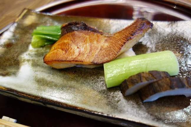 2013/01/18;ぶりの酒粕だれ;和久傳