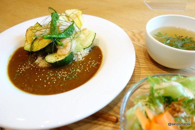 ;野菜たっぷりのカレーランチ1300円;オトノハカフェ