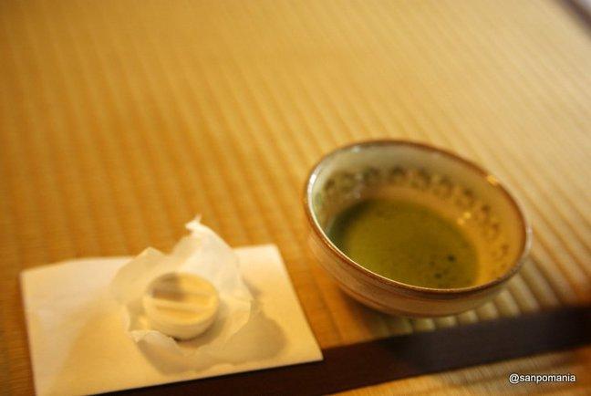 2014/11/01;干菓子とお抹茶;浄妙寺