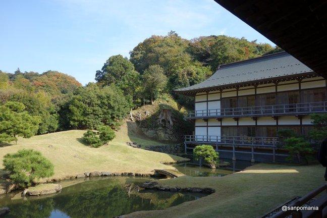 2014/11/23;庭園と得月楼;建長寺