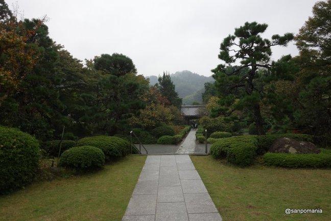 2014/11/01;本堂前からの眺め;浄妙寺