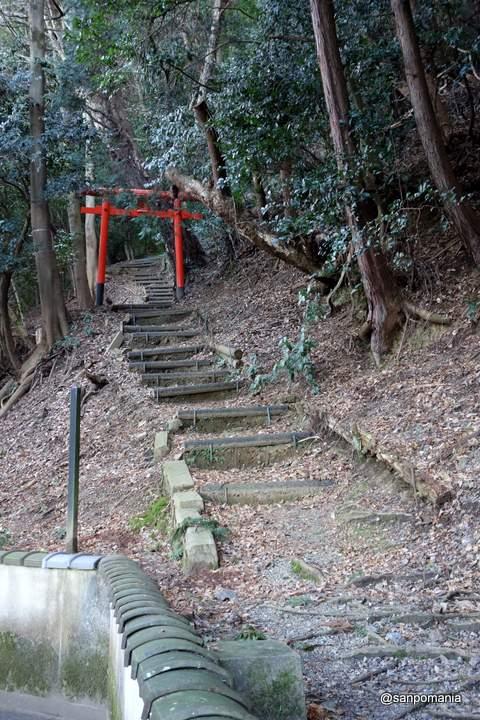 2013/01/19;磐座登拝入り口
