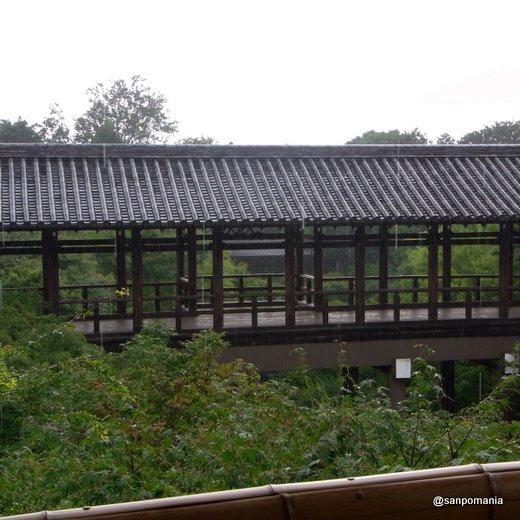 2009/07/26;方丈から見た通天橋