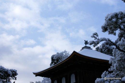 2011/01/10;銀閣と空