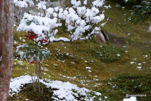2011/01/10;銀閣寺 山道の雪景色