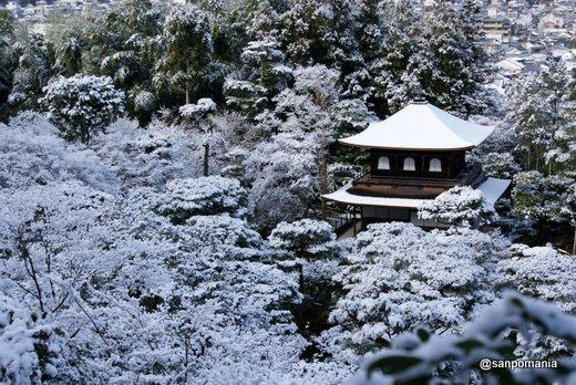 2011/01/10;銀閣の雪景色2