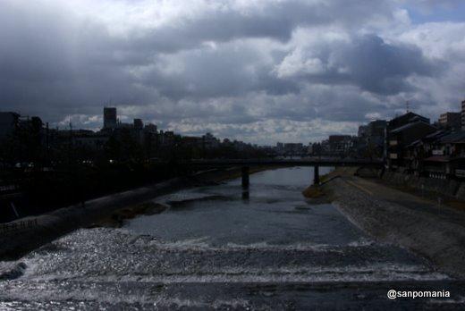 2011/01/10;四条大橋からの眺め