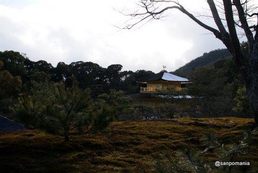 2011/01/10;金閣寺にも雪
