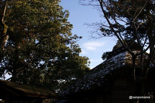 2011/01/10;金閣寺の夕佳亭(せっかてい)