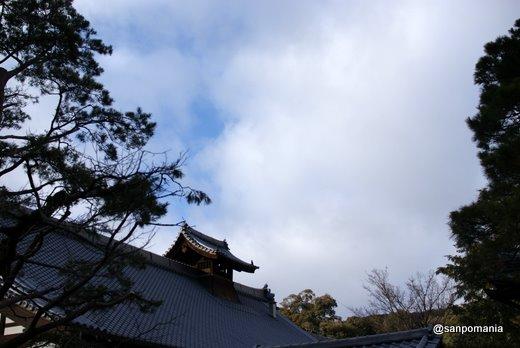 2011/01/10;金閣寺方丈の屋根