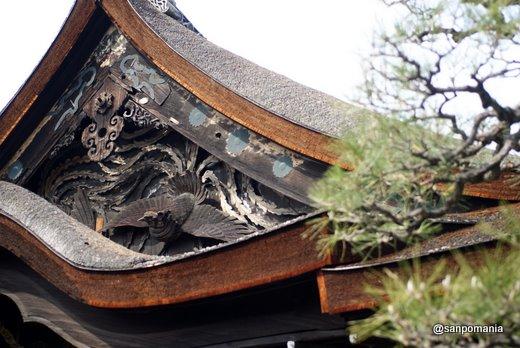 2011/02/13;西本願寺の外観 書院屋根