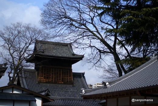 2011/02/13;西本願寺の太鼓楼