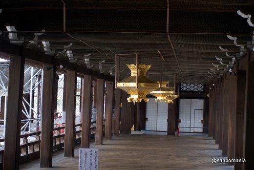 2011/02/13;西本願寺の御影堂と阿弥陀堂の渡り廊下