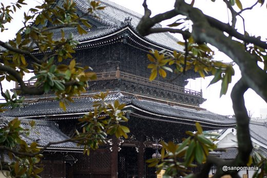 2011/02/13;東本願寺の御影堂門