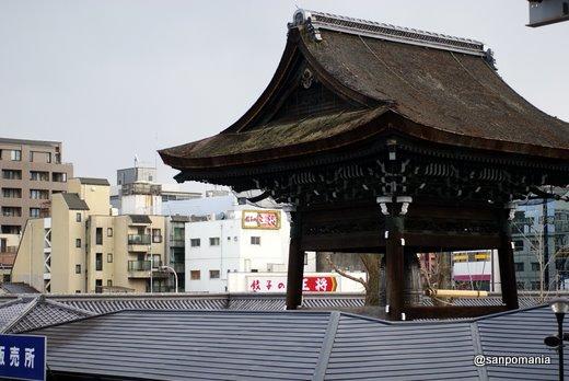 2011/02/13;東本願寺の鐘楼