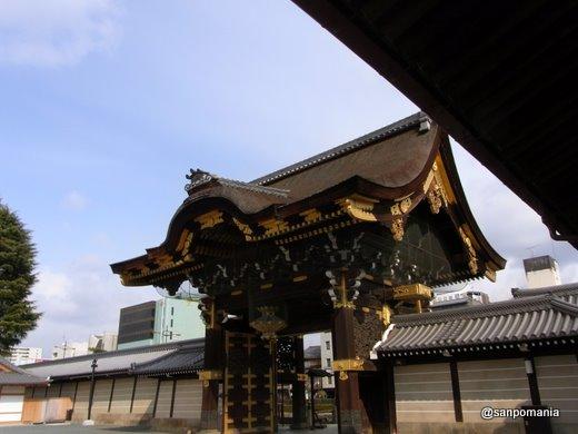 2011/02/13;西本願寺の阿弥陀堂門