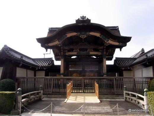 2011/02/13;東本願寺の菊の門(勅使門)