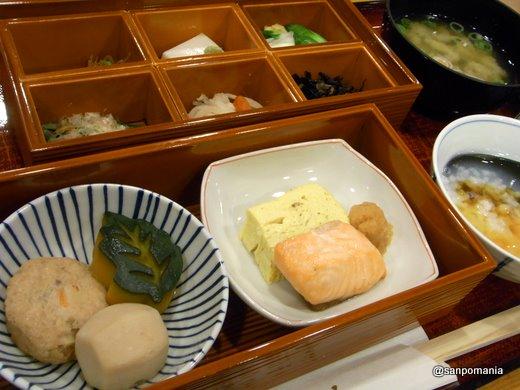 2011/03/03;新都ホテル 京大和の朝食