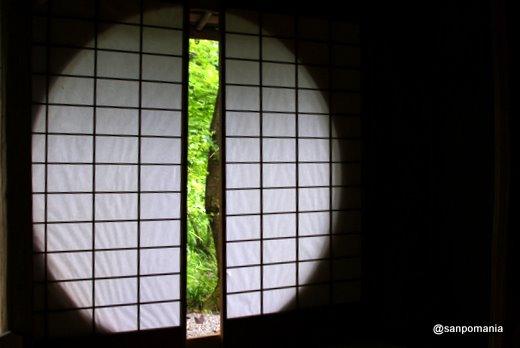 2011/06/12;常照寺 遺芳庵の吉野窓